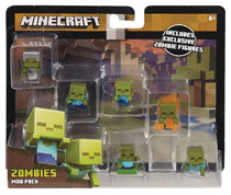 Image: Minecraft Mini-Figure Mob Pack Assortment  - Mattel Toys