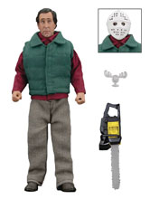 Image: National Lampoon's Christmas Vacation Retro Action Figure: Chainsaw Clark  - Neca