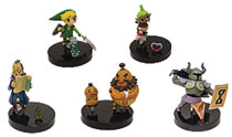 Image: Nintendo Legend of Zelda Buildable Figure 18-Piece Blind Mystery Box Display Series 1  - Ucc Distributing