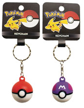 Image: Nintendo Pokemon Pokeball Keychain 48-Piece Assortment  - Ucc Distributing