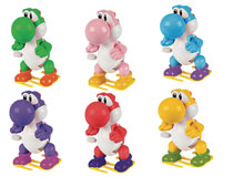 Image: Nintendo Yoshi Windups 24-Piece Blind Mystery Box Display  - Ucc Distributing