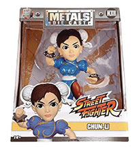Image: Metals Street Fighter Die-Cast Figure: Chun Li  (4-inch) - Jada Toys, Inc