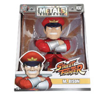 Image: Metals Street Fighter Die-Cast Figure: M Bison  (4-inch) - Jada Toys, Inc