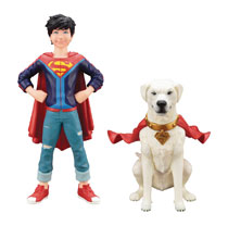 Image: DC Comics ArtFX+ Statue: Superboy  (Jonathan Kent) & Krypto Two Pack - Koto Inc.
