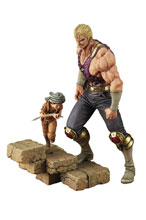 Image: Hokuto No Ken Holy Emperor Souther-Sama PVC Figure  (w/Kid) (1/8 scale) - Passage Trading Co., Ltd