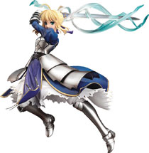 Image: Fate Stay Night Saber PVC Figure  (Triumphant Excalibur version) (1/7 scale) - Good Smile Company