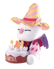 Image: Final Fantasy 30th Anniversary Plush: Moogle  - Square Enix Inc
