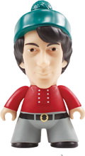 Image: Monkees Vinyl Figure: Michael Nesmith  (4.5-inch) - Titan Books Uk