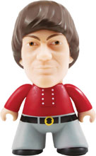 Image: Monkees Vinyl Figure: Mickey Dolenz  (4.5-inch) - Titan Books Uk