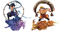 Image: Gem Series Remix Naruto: Fujin & Raijin Set  - Megahouse Corporation