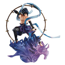 Image: Gem Series Remix Naruto: Uchiha Sasuke Raijin  - Megahouse Corporation