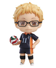 Image: Haikyu!! Nendoroid: Kei Tsukishima  (2nd Season version) - Good Smile Company