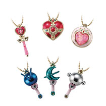Image: Sailor Moon Little Charm Vol. 2: 10-Piece Display  - Bandai Shokugan