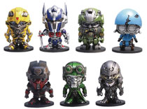 Image: Transformers Last Knight PVC Figure Box Set A  (2 inch) - Hero Cross Co. Ltd