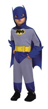Image: DC Heroes Batman Kids Costume - Toddler  (6M-12M) - Rubies Costumes Company Inc