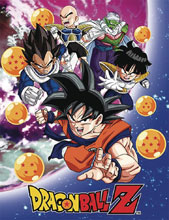 Image: Dragonball Z Namek Saga Group Sublimation Throw Blanket  - Great Eastern Entertainment