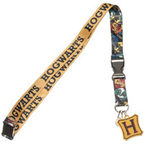 Image: Harry Potter Lanyard: Marauders Map - I Solemly Swear  (w/Charm) - Bioworld Merchandising