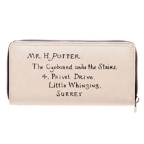 Image: Harry Potter Hogwarts Acceptance Letter Zip Around Wallet  - Bioworld Merchandising