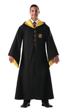 Image: Harry Potter Deluxe Replica Adult Robe: Hufflepuff  - Rubies Costumes Company Inc