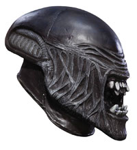 Image: Alien 3/4 Vinyl Youth Mask  - Rubies Costumes Company Inc