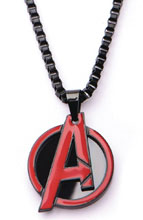 Image: Marvel Necklace: Avengers Logo  (22-inch) - Sales One LLC