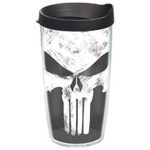 Image: Tervis Marvel Tumbler Punisher  (16-ounce) (w/Lid) - Tervis Tumbler Co.