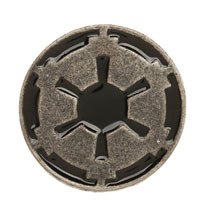 Image: Star Wars Lapel Pin: Galactic Empire  - Bioworld Merchandising