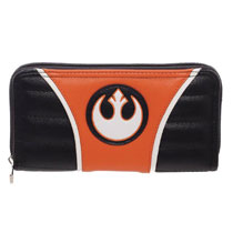 Image: Star Wars Zip Around Wallet: Rebel  - Bioworld Merchandising