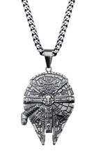 Image: Star Wars Necklace: Millenium Falcon  (22-inch) - Sales One LLC