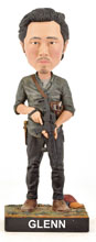 Image: Walking Dead Limited Edition Bobble-Head: Glenn Rhee  - Royal Bobbles