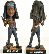 Image: Walking Dead Limited Edition Bobble-Head: Michonne  - Royal Bobbles
