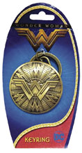 Image: DC Wonder Woman Movie Pewter Keyring Shield  (6-Piece Bag) - Monogram Products