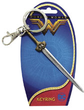 Image: DC Wonder Woman Movie Pewter Keyring Sword  (6-Piece Bag) - Monogram Products