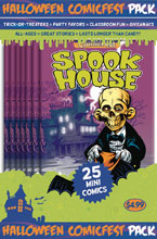 Image: HCF 2018 Spookhouse Sampler Mini Comic Polypack Bundle  - Diamond Publications