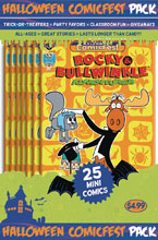 Image: HCF 2018 Rocky & Bullwinkle Adventures Polypack Bundle  - Diamond Publications