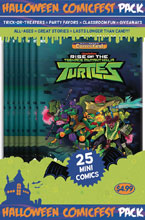 Image: HCF 2018 Teenage Mutant Ninja Turtles: Rise of the Teenage Mutant Ninja Turtles Polypack Bundle  - Diamond Publications