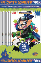 Image: HCF 2018 Splatoon Mini Comic Polypack Bundle  - Diamond Publications