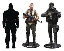 Image: Call of Duty 7-Inch Action Figure Asstorment  - Tmp Toys / Mcfarlane's Toys