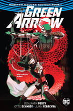 Image: Green Arrow: Rebirth Deluxe Collection Vol. 01 HC  - DC Comics