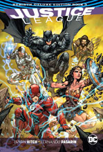 Image: Justice League: Rebirth Deluxe Collection Book 03 HC  - DC Comics