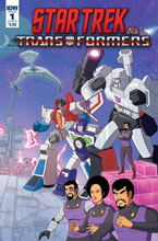Image: Star Trek vs. Transformers #1 (cover B - Murphy) - IDW Publishing