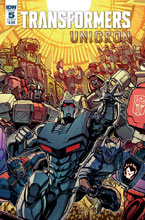 Image: Transformers: Unicron #5 (cover B - Raiz) - IDW Publishing