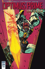 Image: Optimus Prime #24 (cover A - Zama) - IDW Publishing