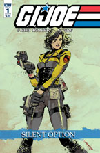 Image: G.I. Joe: A Real American Hero - Silent Option #1 (cover B - Loh) - IDW Publishing