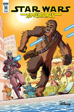 Image: Star Wars Adventures #14 (cover A - Mauricet) - IDW Publishing