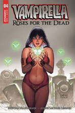 Image: Vampirella: Roses for Dead #4 (cover A - Linsner) - Dynamite