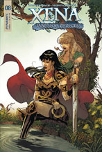 Image: Xena #8 (cover A - Cifuentes) - Dynamite