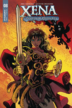 Image: Xena #8 (cover B - Cifuentes) - Dynamite