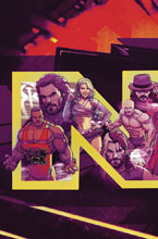 Image: WWE NXT Takeover: Blueprint #1 (subscription cover - Dalfonso) - Boom! Studios