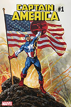 Image: Captain America #1 (DFE signed - Jusko Gold) - Dynamic Forces
